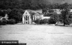 Valle Crucis, Abbey, West Front 1948