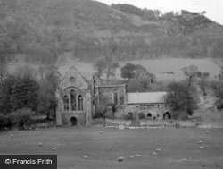 Valle Crucis, The Abbey c.1938, Valle Crucis Abbey