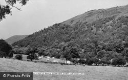 Valle Crucis, Valle Crucis Abbey Caravan Camp c.1950, Valle Crucis Abbey