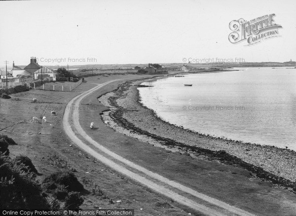 Valley, Crossing Beach c1955