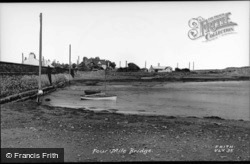 Four Mile Bridge c.1952, Valley