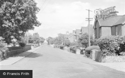 Valley, Station Road 1952