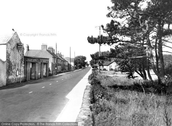 Valley, the London Road c1955