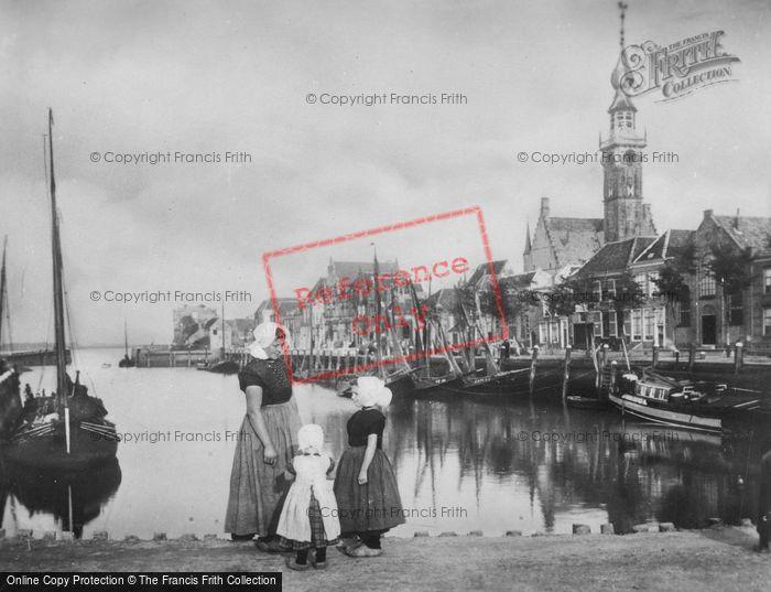 Photo of Veere, Quay c.1900