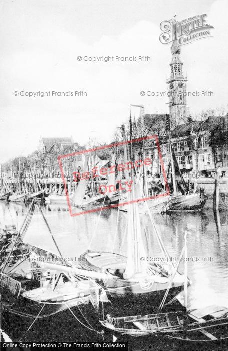 Photo of Veere, The Harbour c.1900