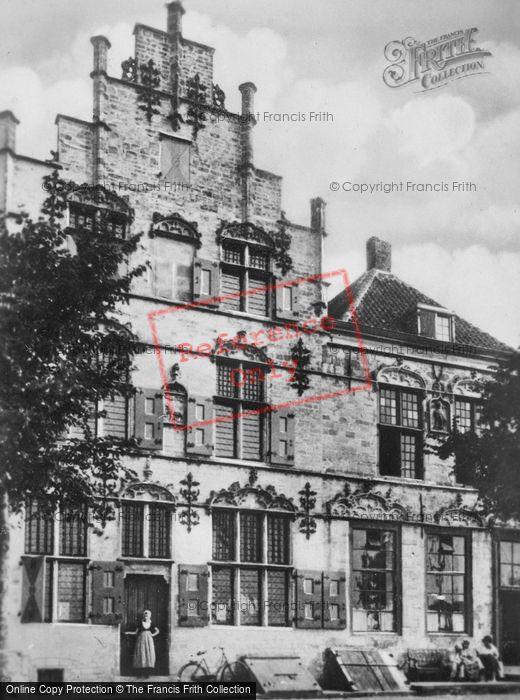 Photo of Veere, The Scottish House c.1900