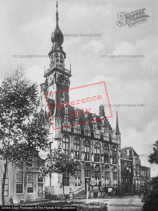 Photo of Veere, The Town Hall c.1900