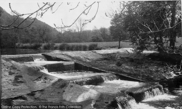 Photo of Velindre, The Weir c.1955