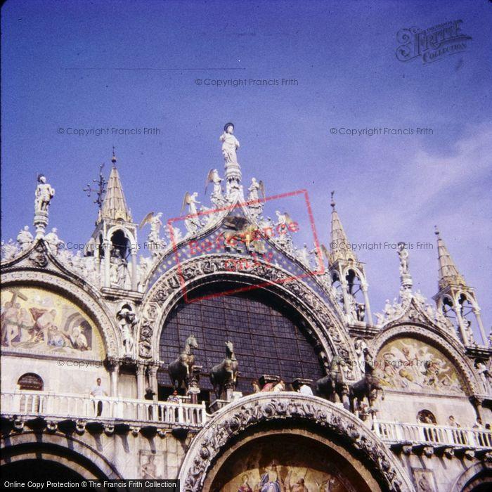 Photo of Venice, Basilica Di San Marco 1966