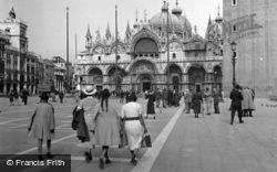Basilica Of St Mark 1938, Venice