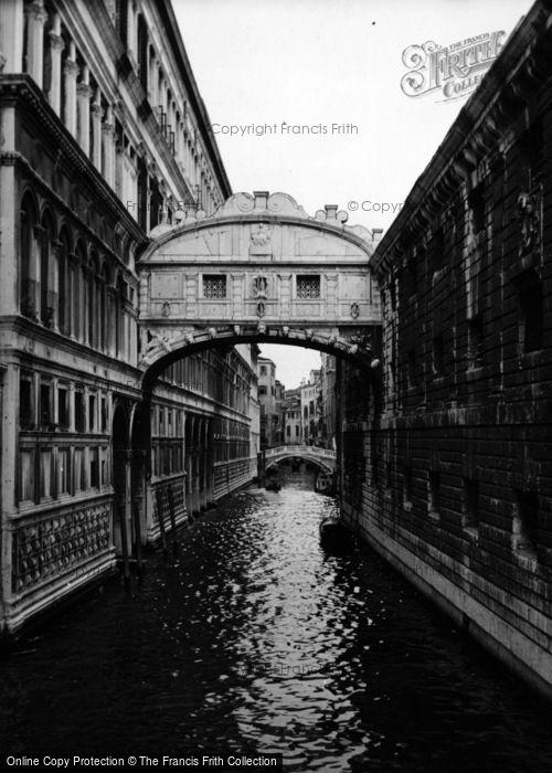 Photo of Venice, Bridge Of Sighs 1938