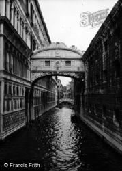 Bridge Of Sighs 1938, Venice