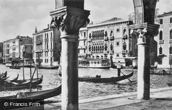 Ca' D'oro Palace, Grand Canal c.1935, Venice