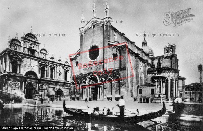 Photo of Venice, Church Of St John And St Paul c.1935