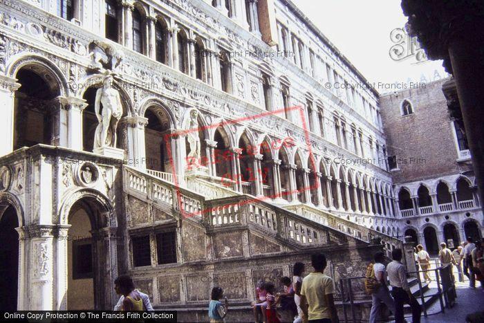 Photo of Venice, Doges Palace Court Yard 1983