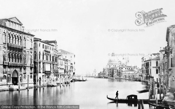 Photo of Venice, Grand Canal c.1870
