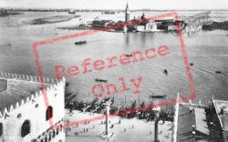 Isola San Giorgio From St Mark's Campanile c.1935, Venice