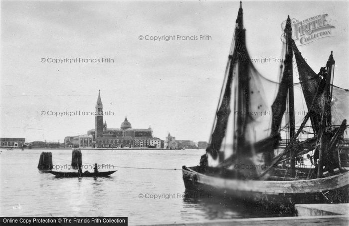 Photo of Venice, On The Grand Canal c.1935