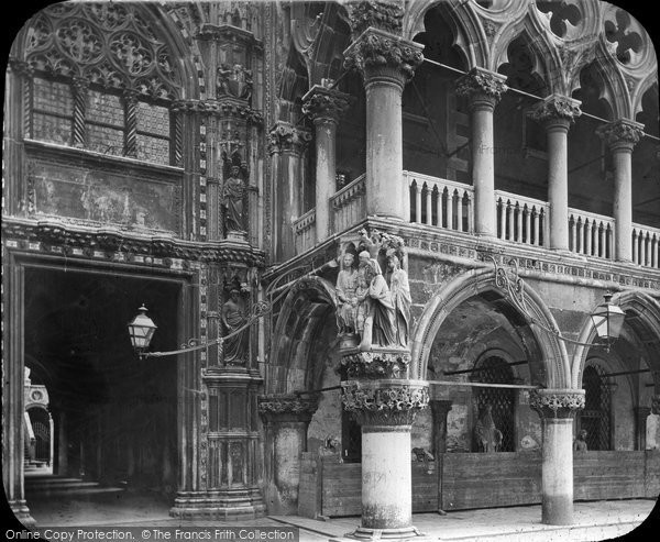 Photo of Venice, Palace Of The Doge, Arches c.1873