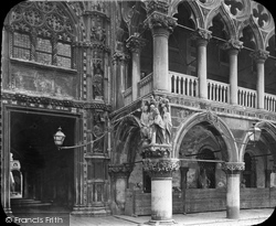 Palace Of The Doge, Arches c.1873, Venice