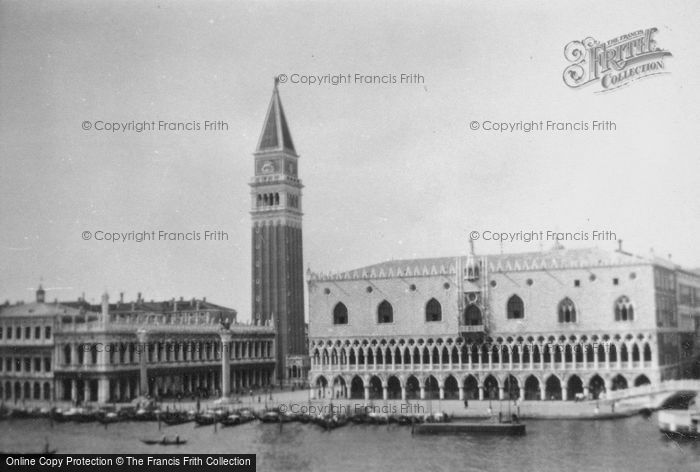 Photo of Venice, Piazza San Marco And Doge's Palace 1932