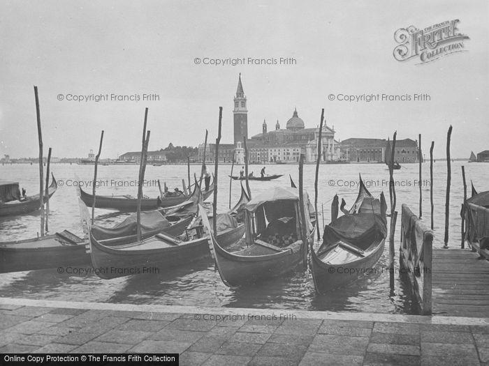Photo of Venice, San Giorgio Maggiore Island 1938
