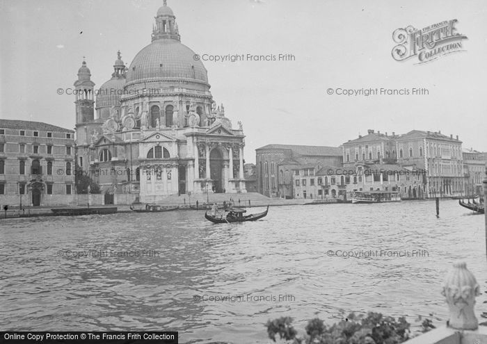 Photo of Venice, Santa Maria Della Salute Basilica 1938