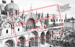 St Mark's Basilica And Doge's Palace c.1935, Venice