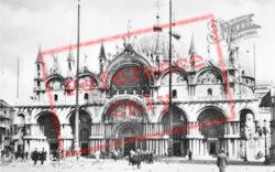St Mark's Basilica c.1935, Venice