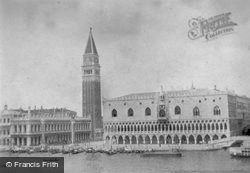 St Mark's Bell Tower And Doge's Palace c.1935, Venice
