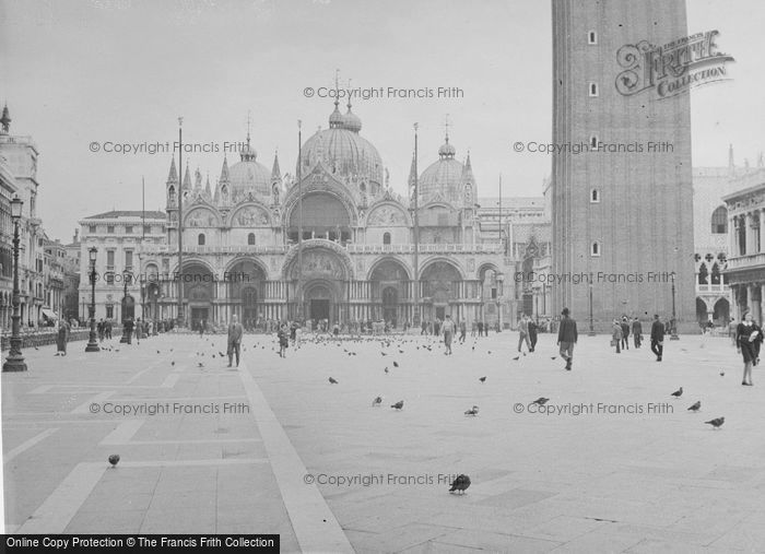 Photo of Venice, St Mark's Cathedral 1938