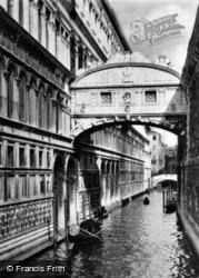The Bridge Of Sighs c.1935, Venice