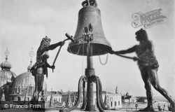 The Clock, St Mark's Square c.1935, Venice