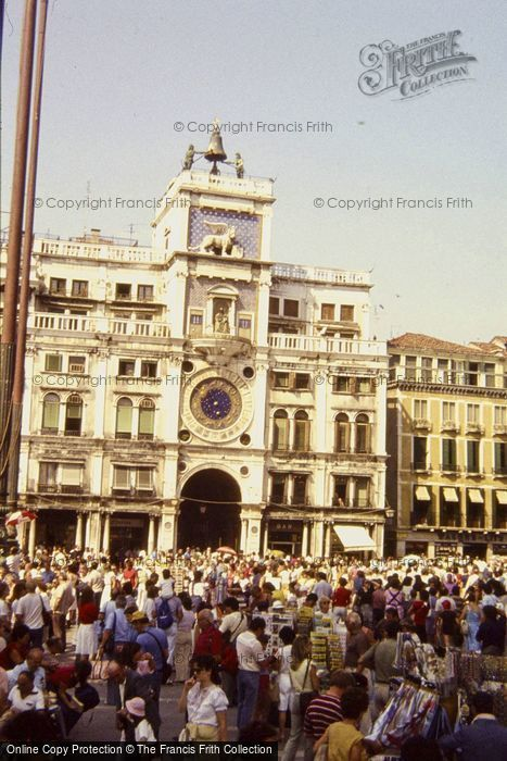 Photo of Venice, The Clock Tower 1983