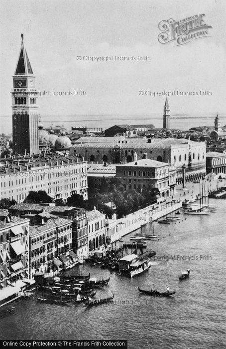 Photo of Venice, The Grand Canal c.1935