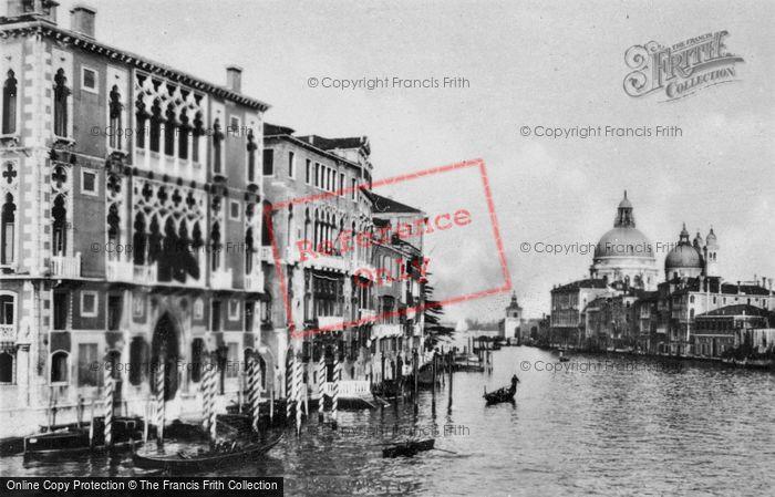 Photo of Venice, The Palazzo Cavalli Franchetti, Grand Canal c.1935