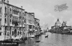 The Palazzo Cavalli-Franchetti, Grand Canal c.1935, Venice
