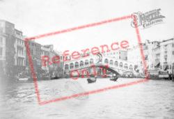The Rialto Bridge c.1935, Venice