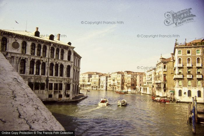 Photo of Venice, View From Rialto Bridge 1983