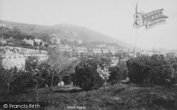 Boniface Downs From The Park 1896, Ventnor