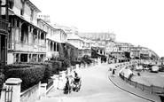 Ventnor, Esplanade 1892