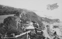 From Steephill Cove 1892, Ventnor