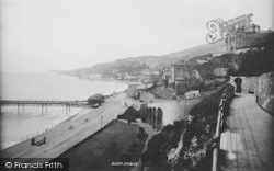 From The East Cliff 1896, Ventnor