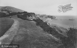 From The Park, Looking East 1913, Ventnor