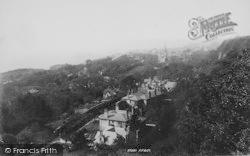 From Upper Bonchurch 1896, Ventnor