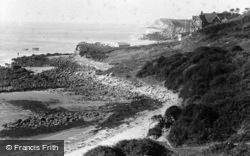 Steephill, The Hollow c.1900, Ventnor