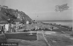 The Canoe Lake And Eastern Promenade 1935, Ventnor