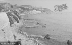 The Cliffs And Beach c.1950, Ventnor