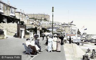 Ventnor, the Esplanade 1908