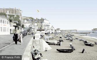 Ventnor, the Promenade c1950